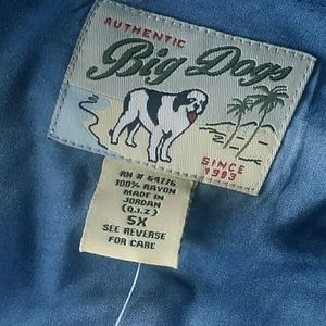 Big Dogs camp shirt